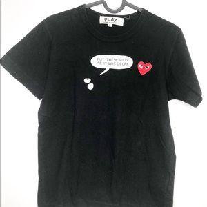 Comme Des Garçons Play Shortsleeve T-Shirt